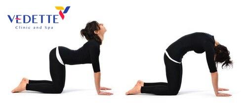 bai tap yoga giam mo bung sau sinh mo