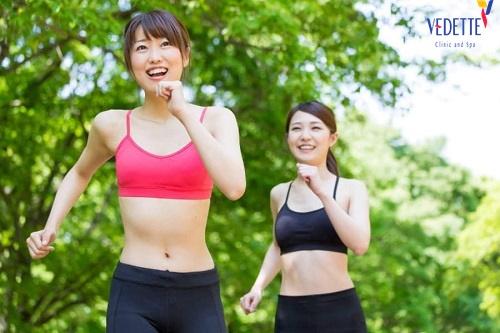 giảm béo bụng sau sinh của nhật