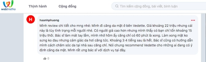 chuyen muc nang co mat tren webtretho