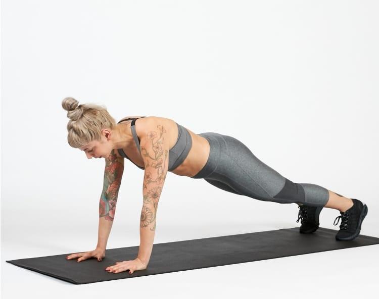 tập plank giảm mỡ toàn thân