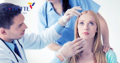quy trình căng da mặt