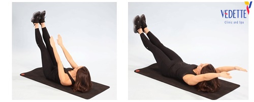 chế độ giảm mỡ bụng cho nữ