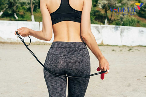 Nhảy dây có giảm mỡ mông không