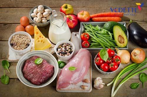 thực đơn giảm béo bụng cho nữ