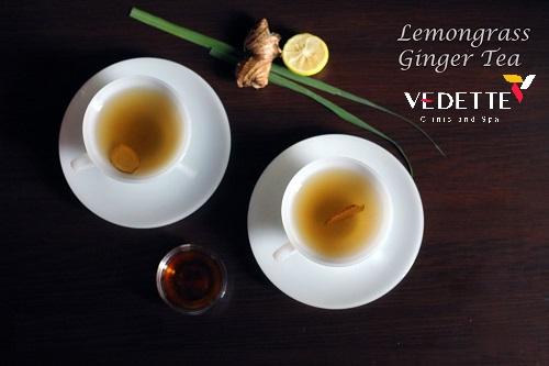 giảm mỡ nhanh bằng nước trà sả