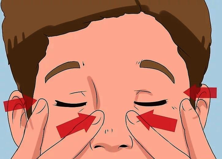 cách xóa nếp nhăn khóe mắt hiệu quả