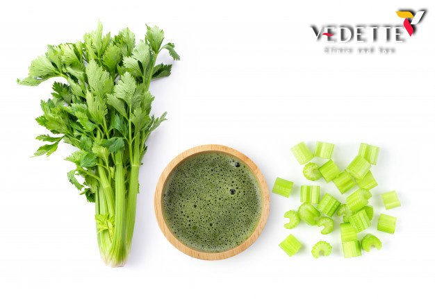 celery isolated white background top view 253984 2888 1